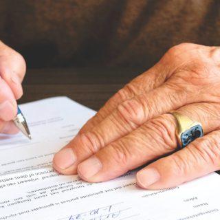 bank cheque signature